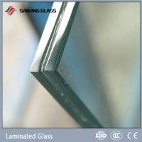 Laminated glass price with CE certificate