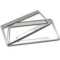 custom LOGO license plate frame Zinc Alloy License Plate Frame Exporter