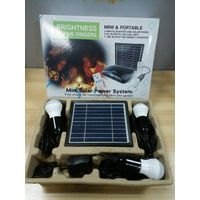 cheap price 5v3w home solar systems for outdoor indoor lighting