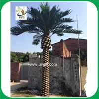 UVG PTR030 6 meters huge outdoor palm tree artificial with fiberglass trunk for plaza landscaping