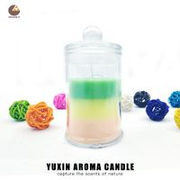Best Selling Fragrant Pillar Candles Scented Jar Candles