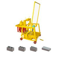 QMY2-45 egg laying concrete hollow block making machine in Philippines thumbnail image