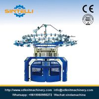 Single Jersey Computerized Jacquard Circular Knitting Machine