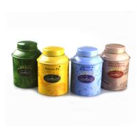 Custom Printed 100g Round Metal Tea Tin Candy