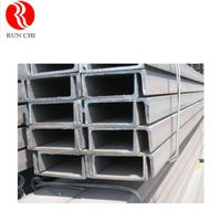 Hot Rolled Sizes Steel U Channel