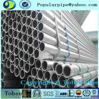 DN50 Galvanized steel pipe /round pipe