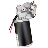 12v 24v dc gear motor high torque low speed motor for BBQ fishing machine thumbnail image