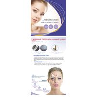 K-WRINKLE PATCH & cross-linked hyaluronic acid gel/cosmetics packaging for skincare/hyaluronic acid
