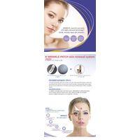 K-WRINKLE PATCH & cross-linked hyaluronic acid gel/cosmetics packaging for skincare/hyaluronic acid
