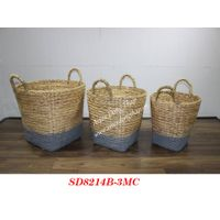Basket for home decor and furniture - SD8214B-3MC
