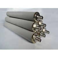 Porous titanium sintered filter cartridge tube