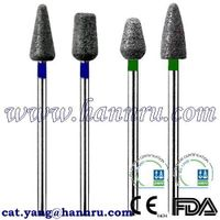 Burs, Sintered diamonds, HP -Hann Ru