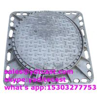 ductile iron manhole cover 85085080 mm for Algeria