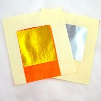 Silver/ Gold Joss Paper for decoupage, Scrapbooking, stamping