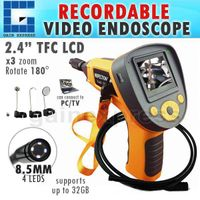 """CO599G_2M Industrial 2.4""""Recordable Video Photo Endoscope Inspection Camera + 2M thumbnail image"""