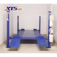 Hot sale 2 level 4 post hydraulic car stacker parking system for home garage