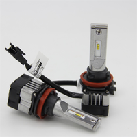 6000K Cool White 4100LM Car LED Replacement Headlight Bulb