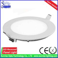 12W slim round recessed LED ceiling light