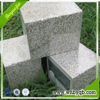 120mm Exterior Sandwich Panel Fireproof EPS Concrete Wall for Prefab House
