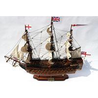 HMS VICTORY WOODEN MODEL BOAT - WOODEN HANDICRAFT MODEL BOAT HIGH QUALITY