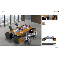 Luxury office desks for 4 people, 2015 new workstation