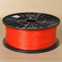 Red 1.75mm 3mm ABS Filament For 3D Printer 1KG Spool