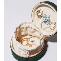 velvet jewelry box for store jewels gift packaging