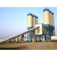 HZS180 Large Concrete Mixing Plant