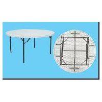 plastic round table