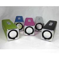 (sell)mini lovely USB speaker with FM radio