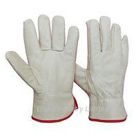 Sell pig grain leather driver gloves