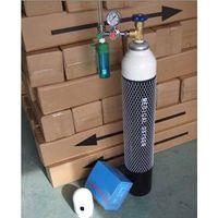 medical oxygen cylinder and flowmeter