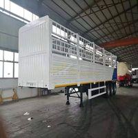 3 axles 40 ton fence cargo truck thumbnail image