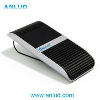 2014 ALD68 Real TTS voice dailing solar charging bluetooth speaker car kit thumbnail image