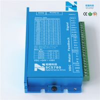 SC5780A Closed Loop Hybrid Servo Stepper Driver/Drive