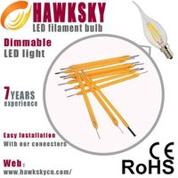 Hawksky Promotion LED Filament Candle Light