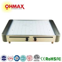 OHMAX 350W Square Type Full Spectrum LED Grow Light With Red & Blue Manual Dimmer