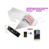 Transparent Poker Scanner Camera Scan Marked Cards For Casino Cheating Devices shoes thumbnail image