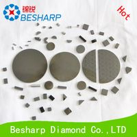 51mm 55mm 58mm PCD cutting tool blanks / PCD disc /PCD tips / PCD insert