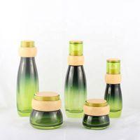 Fashionable 30G 50G Green Whole Set Cosmetics Packaging Bottle Jar thumbnail image