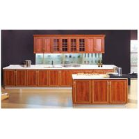 Waterproof and moisture-proof Aluminum furniture Aluminum kitchen cabinet