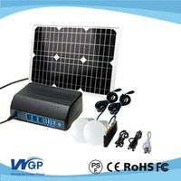 solar emergency power supply solar panel system for outdoor camping light kit