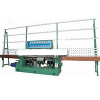 Glass edge beveling machine