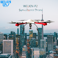 WELKIN-P2 Professional Surveillance Mapping Quadcopter Drone With HD Camera