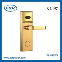 Intelligent swipe card free software hotel door lock