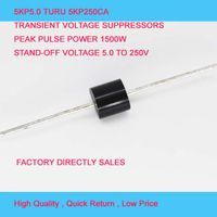 Free Samples 5000W R-6 Case 110V TVS Chip Rectifier Diode 5KP110A/CA