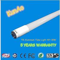 SAA,TUV-CE,ROHS, Aluminum LED  tube 18W