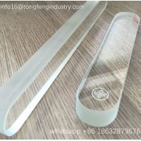 Transparent plane borosilicate level gauge glass