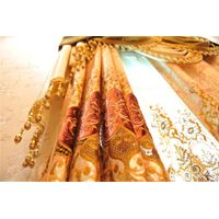 embroidered curtain shading fabrics thumbnail image