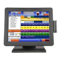15inch all in one touch pos system